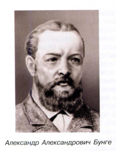 Александр Александрович Бунге
