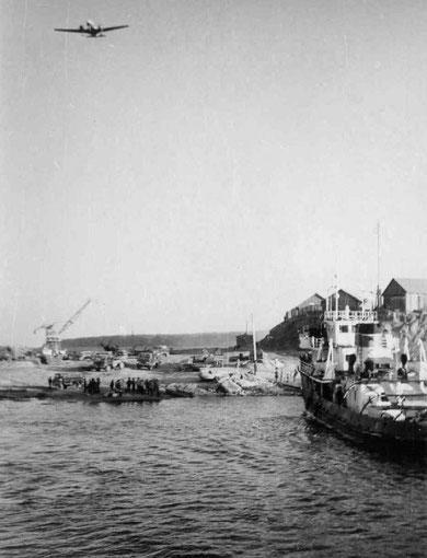 Порт Сангар. Якутия, 70-е годы, Якутия