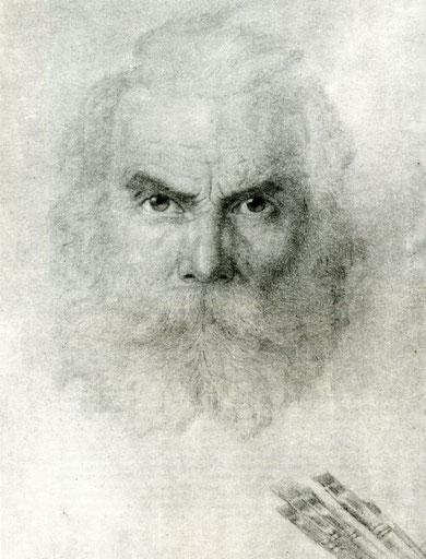 Хдуожник И.В. Попов. Автопортрет