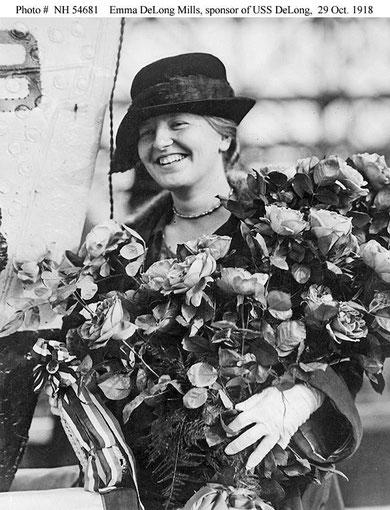 Эмма Де-Лонг Миллс. 1918 год.
