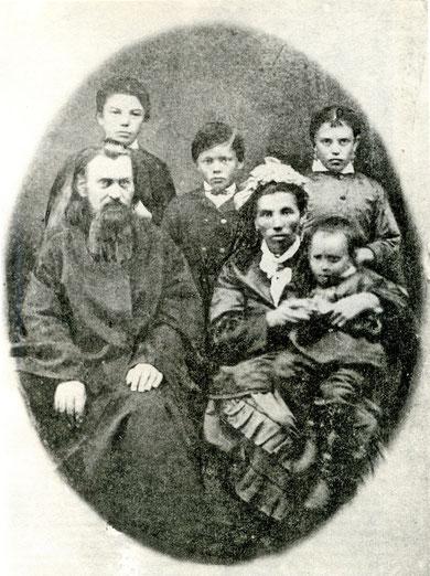 Семья Поповых