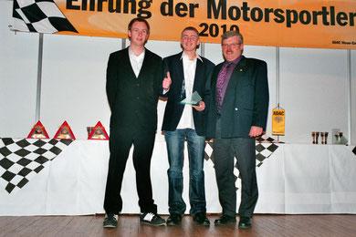 v.l.: Sören Bökhaus, Lars Dählmann, Ralf Thiesing