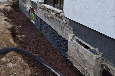 Baugruben- / Bauraum Verfüllung