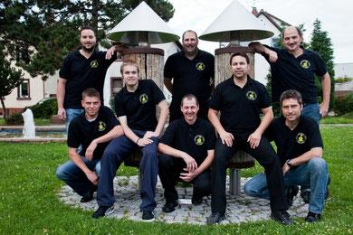 Bild mit unseren Jubi-Polos - Foto: Dennis Möbus