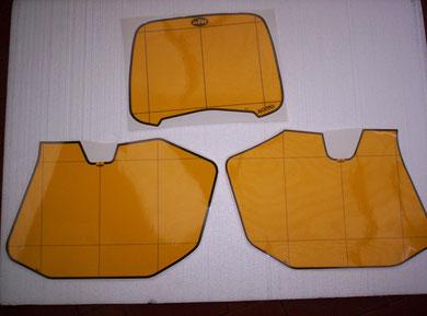 jaune pour la gamme GS 125 240 250 et 300