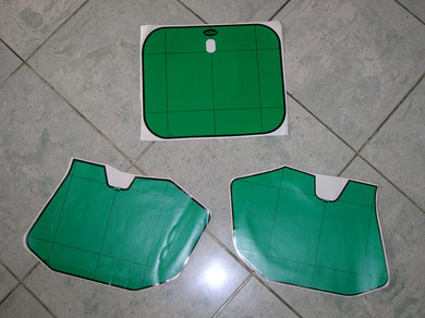 Vert pour les 240 et 250