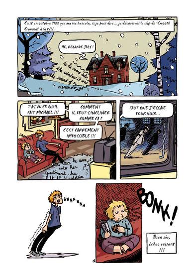 """Virginie de Lambert : Page 1 """"La diagonale du fou"""""""