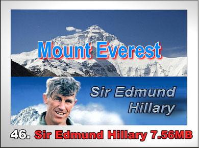 46.Sir Edmund Hillary