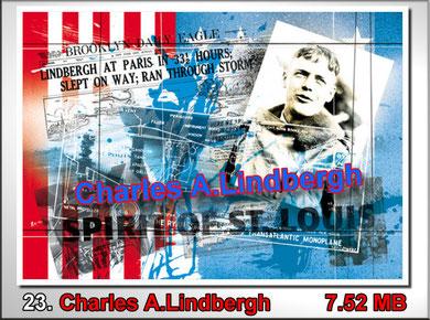 23 Charles A.Lindbergh
