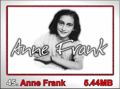 45,Anne Frank