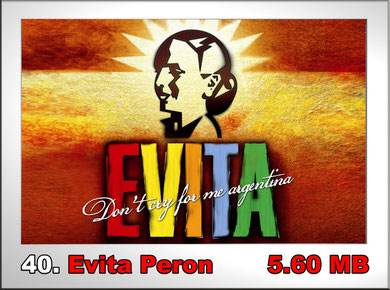 40.Evita Peron