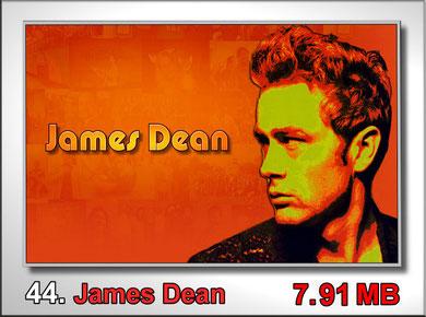 44.James Dean