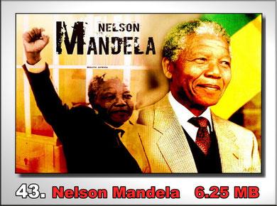 43.Nelson Mandela