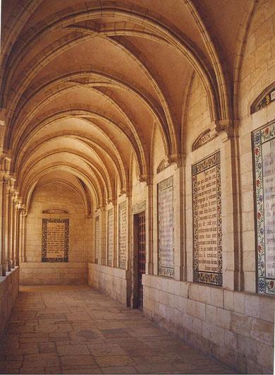 Galería del Pater Noster. Jerusalén