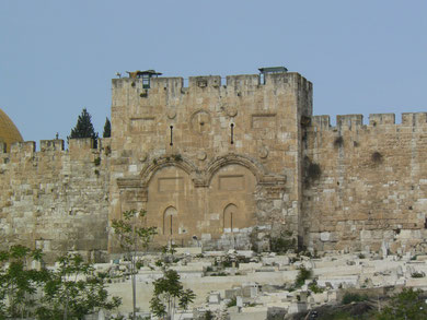 Puerta dorada. Jerusalén