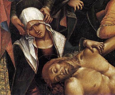 Lamentación sobre Cristo muerto. Lucca Signorelle.1502