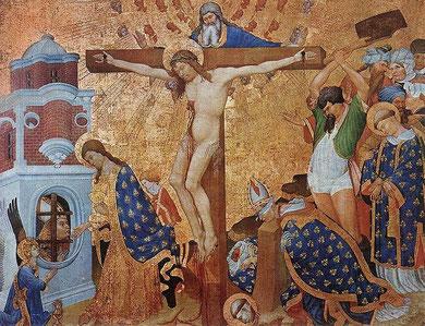 Martirio de San Dionisio. Tabla 1410.H.Bellechose