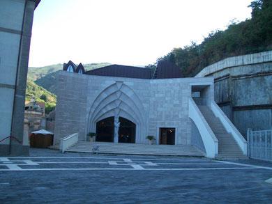 La nuova Chiesa del Santuario