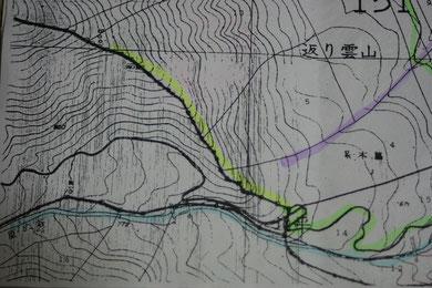 現地の図面
