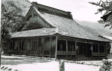 解体移築前の中野照蓮寺