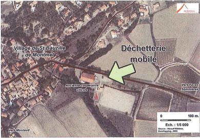 plan accès déchetterie mobile