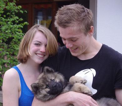 Steffi und Stephan mit Bana