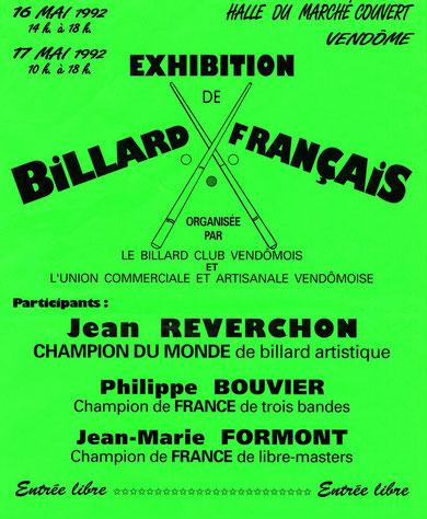 L'affiche de cette exhibition