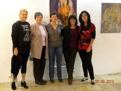 Austellung Anneliese - Gabi, Hilde, Anneliese, Helga und Patrizia