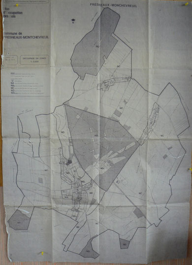 Plan occupation des sols
