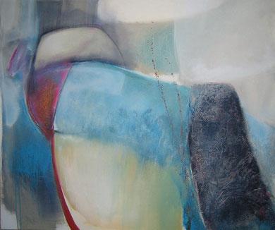 Andrea Ridder: 209091, Acryl-Mischtechnik, 100 x 120 cm