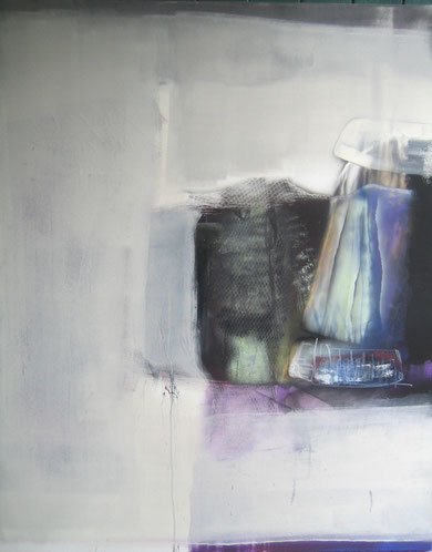 Andrea Ridder: 11-05-02 Soul, Acryl & Airbrush, 2011, 120 x 100 cm