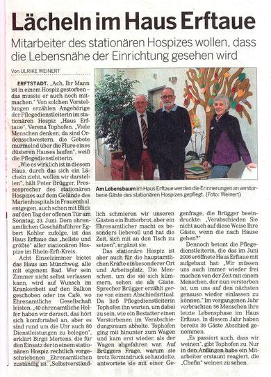 Kölnische Rundschau 01. Mai 2013