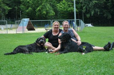 Manon&Leeloo 3er Platz JumpingL1 Ender&Eyco 2er Platz JumpingL2