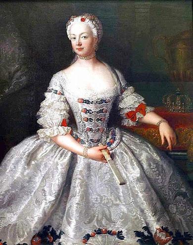 公女エリーザベト・クリスティーネ・フォン・ブラウンシュヴァイク=ベーヴェルン(アントワーヌ・ペーヌ作)