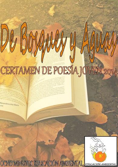"""Descárgate el libro del II Certamen de Poesía Joven """"DE BOSQUES Y AGUAS"""" 2014"""