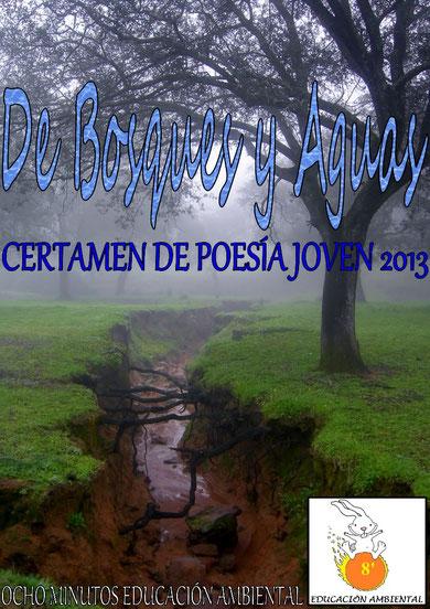 """Descárgate el libro del I Certamen de Poesía Joven """"DE BOSQUES Y AGUAS"""" 2013"""