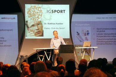 Dr. Matthias Kamber, Direktor Antidoping Schweiz