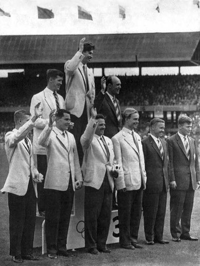 1956 Melbourne: Team Winners -USSR, USA, Finland