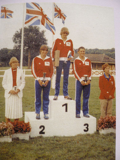 1982 Compiegne: Great Britain 1st, 2nd, and 3rd at the World Championships