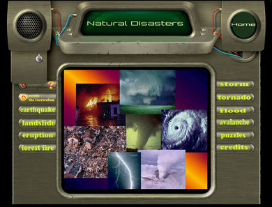 Lavoro 3B natural disasters - IWB Library project