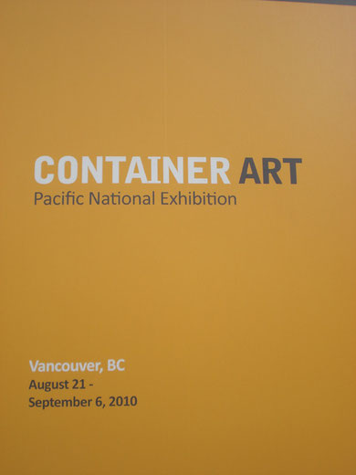 Container Art Show / 集装箱装置艺术展