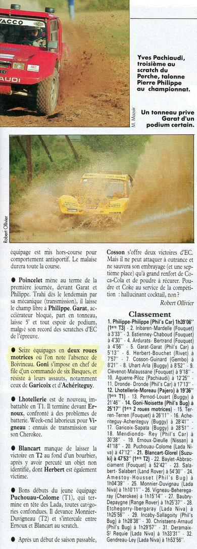 1993 - Echappement - Le Gers Armagnac