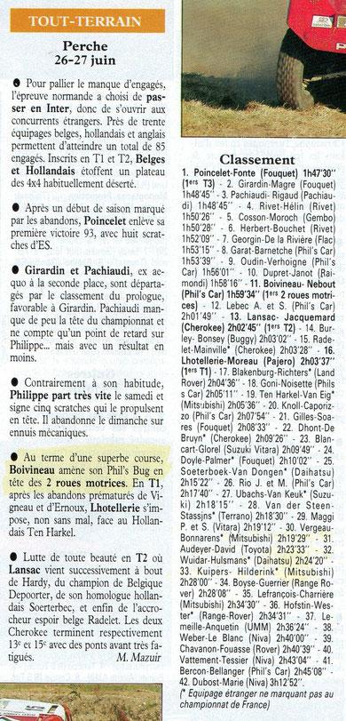 1993 - Echappement - Le Perche