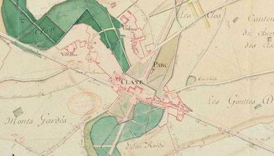 Plan d'intendance fin XVIIIe (AD77)