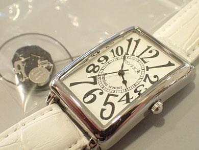 フランク三浦 時計修理例のページ。 お客様はご納得済みでしたが、正直言って修理代で新品買えるくらいかもしれません