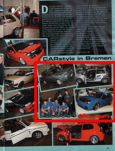 Quelle: VW Scene International * Ausgabe 11/10 * Seite 93
