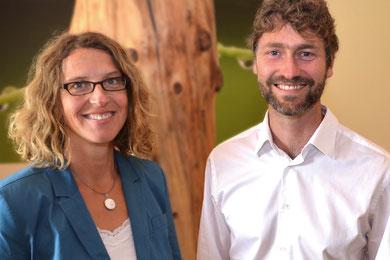 Birgit Busche und Stephan Moschner
