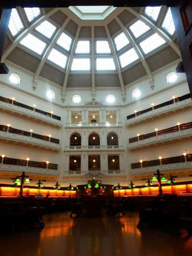 死ぬまでに行くべき図書館の一つ、ヴィクトリア州図書館