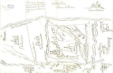 Peñaflor a principios del siglo XVIII