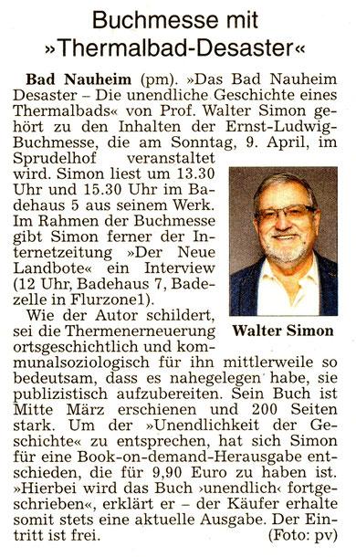 Prof. Dr. Walter Simon, WZ, 5.04.2017, pm